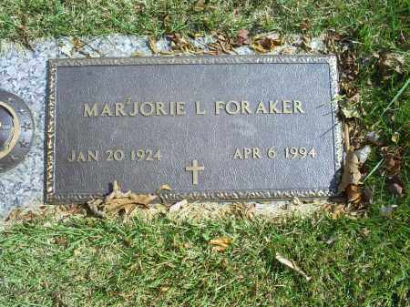 FORAKER, MARJORIE L. - Ross County, Ohio | MARJORIE L. FORAKER - Ohio Gravestone Photos