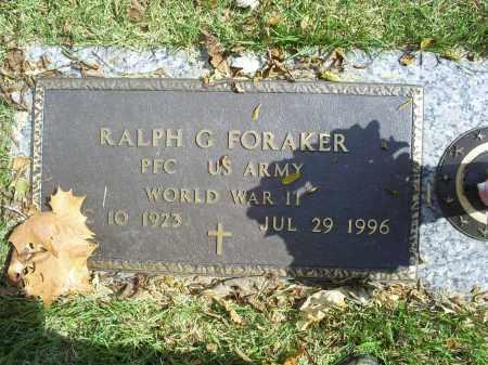 FORAKER, RALPH G. - Ross County, Ohio | RALPH G. FORAKER - Ohio Gravestone Photos
