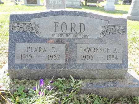FORD, LAWRENCE A. - Ross County, Ohio | LAWRENCE A. FORD - Ohio Gravestone Photos