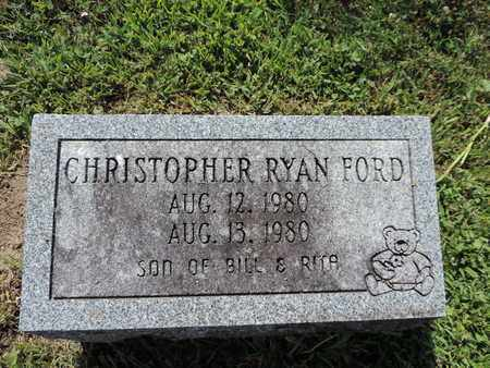 FORD, CHRISTOPHER RYAN - Ross County, Ohio | CHRISTOPHER RYAN FORD - Ohio Gravestone Photos