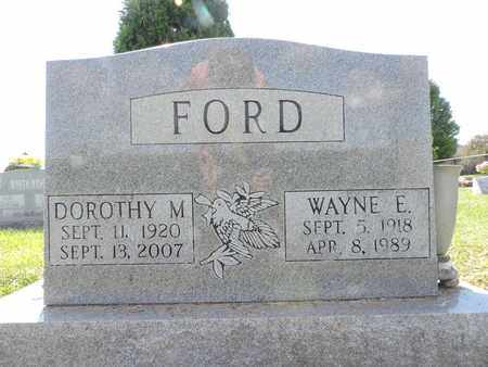 FORD, WAYNE E. - Ross County, Ohio | WAYNE E. FORD - Ohio Gravestone Photos