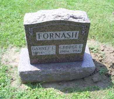 FORNASH, GARNET L. - Ross County, Ohio | GARNET L. FORNASH - Ohio Gravestone Photos