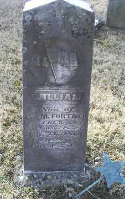FORTNER, WILLIAM - Ross County, Ohio | WILLIAM FORTNER - Ohio Gravestone Photos