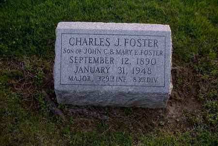 FOSTER, CHARLES J. - Ross County, Ohio | CHARLES J. FOSTER - Ohio Gravestone Photos