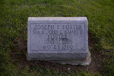 FOSTER, JOSEPH F. - Ross County, Ohio | JOSEPH F. FOSTER - Ohio Gravestone Photos