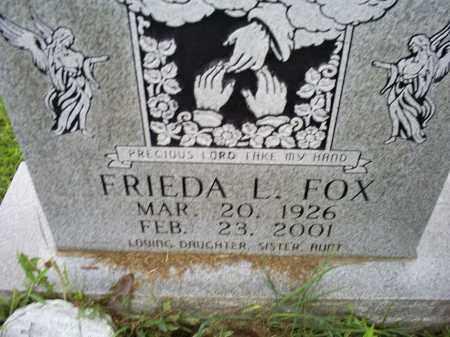FOX, FRIEDA L. - Ross County, Ohio | FRIEDA L. FOX - Ohio Gravestone Photos
