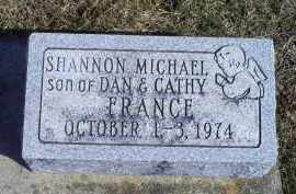 FRANCE, SHANNON MICHAEL - Ross County, Ohio | SHANNON MICHAEL FRANCE - Ohio Gravestone Photos