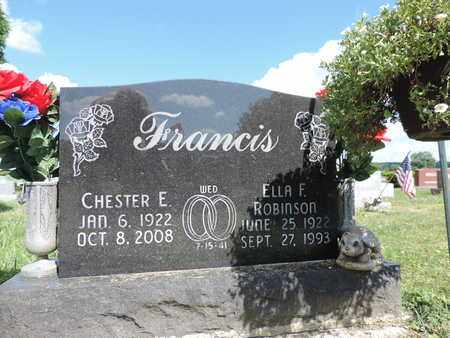 FRANCIS, CHESTER E. - Ross County, Ohio | CHESTER E. FRANCIS - Ohio Gravestone Photos