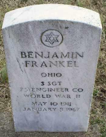 FRANKEL, BENJAMIN - Ross County, Ohio | BENJAMIN FRANKEL - Ohio Gravestone Photos