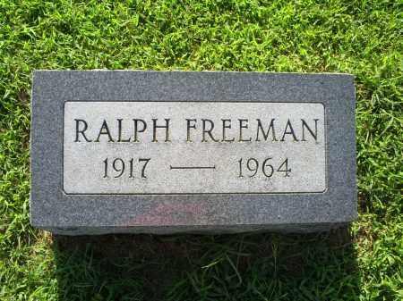 FREEMAN, RALPH - Ross County, Ohio | RALPH FREEMAN - Ohio Gravestone Photos