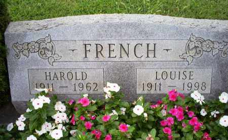 FRENCH, HAROLD - Ross County, Ohio | HAROLD FRENCH - Ohio Gravestone Photos