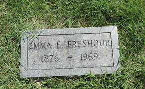 FRESHOUR, EMMA E - Ross County, Ohio | EMMA E FRESHOUR - Ohio Gravestone Photos