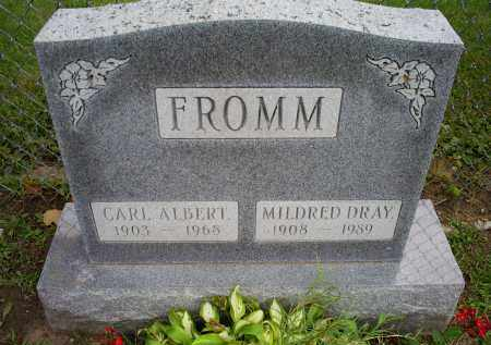 FROMM, MILDRED - Ross County, Ohio | MILDRED FROMM - Ohio Gravestone Photos