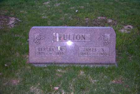 FULTON, JAMES N. - Ross County, Ohio | JAMES N. FULTON - Ohio Gravestone Photos
