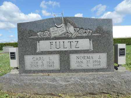 FULTZ, NORMA J. - Ross County, Ohio | NORMA J. FULTZ - Ohio Gravestone Photos