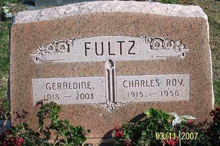 FULTZ, CHARLES ROY - Ross County, Ohio | CHARLES ROY FULTZ - Ohio Gravestone Photos