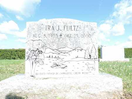 FULTZ, IRA J. - Ross County, Ohio | IRA J. FULTZ - Ohio Gravestone Photos