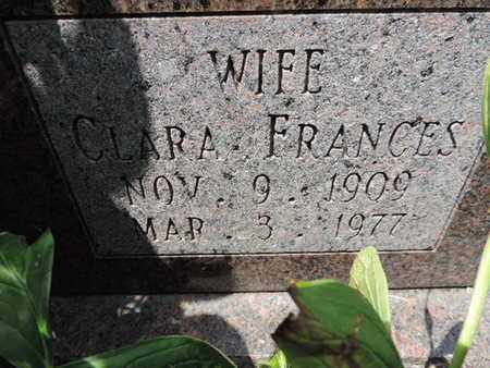 FURNEY, CLARA FRANCES - Ross County, Ohio | CLARA FRANCES FURNEY - Ohio Gravestone Photos