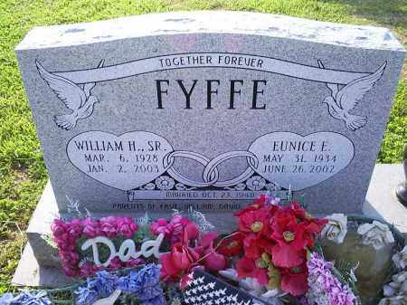 FYFFE, WILLIAM H. SR. - Ross County, Ohio | WILLIAM H. SR. FYFFE - Ohio Gravestone Photos