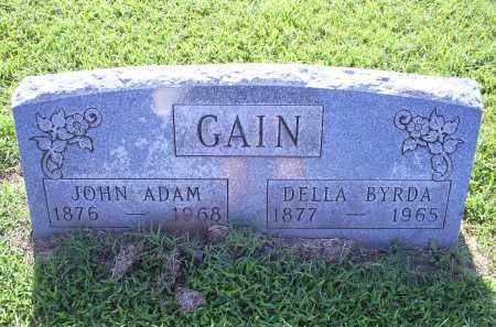 GAIN, JOHN ADAM - Ross County, Ohio | JOHN ADAM GAIN - Ohio Gravestone Photos