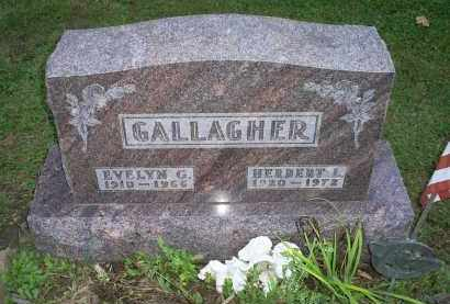 GALLAGHER, EVELYN C. - Ross County, Ohio | EVELYN C. GALLAGHER - Ohio Gravestone Photos