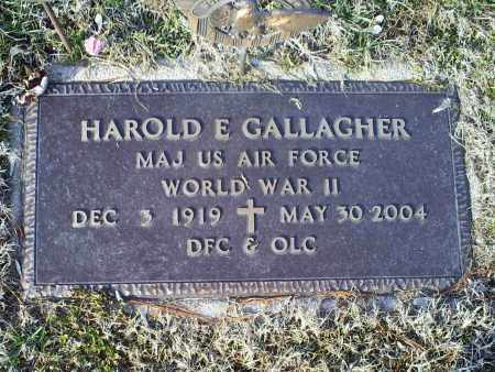 GALLAGHER, HAROLD E. - Ross County, Ohio | HAROLD E. GALLAGHER - Ohio Gravestone Photos