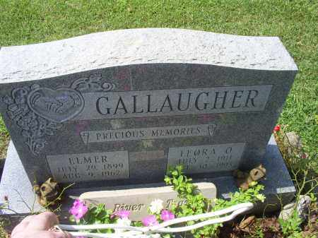 GALLAUGHER, ELMER - Ross County, Ohio | ELMER GALLAUGHER - Ohio Gravestone Photos