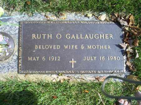 GALLAUGHER, RUTH O. - Ross County, Ohio | RUTH O. GALLAUGHER - Ohio Gravestone Photos