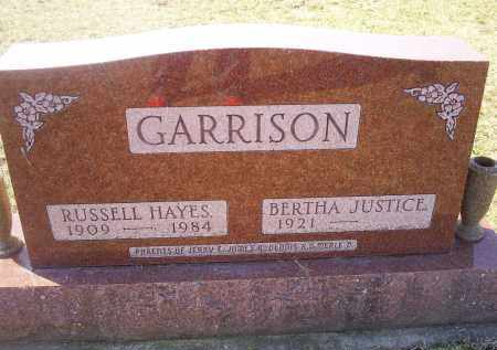 GARRISON, RUSSELL HAYES - Ross County, Ohio | RUSSELL HAYES GARRISON - Ohio Gravestone Photos