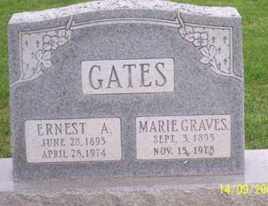 GATES, ERNEST A. - Ross County, Ohio | ERNEST A. GATES - Ohio Gravestone Photos