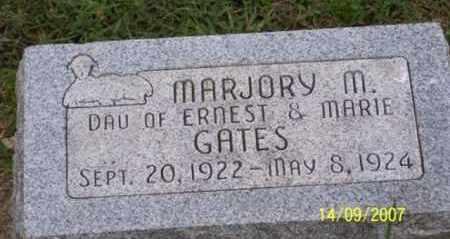 GATES, MARJORY M. - Ross County, Ohio | MARJORY M. GATES - Ohio Gravestone Photos