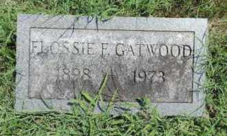 GATEWOOD, FLOSSIE F - Ross County, Ohio | FLOSSIE F GATEWOOD - Ohio Gravestone Photos