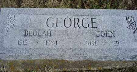 GEORGE, JOHN - Ross County, Ohio | JOHN GEORGE - Ohio Gravestone Photos