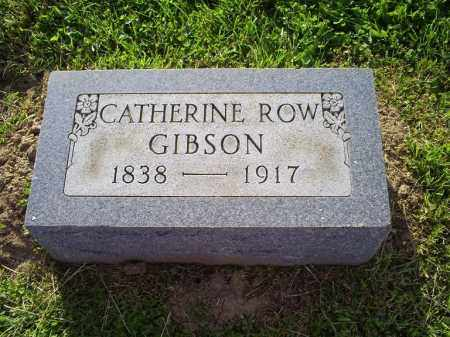 GIBSON, CATHERINE - Ross County, Ohio | CATHERINE GIBSON - Ohio Gravestone Photos