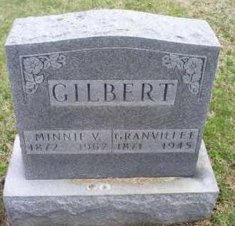 GILBERT, MINNIE V. - Ross County, Ohio | MINNIE V. GILBERT - Ohio Gravestone Photos