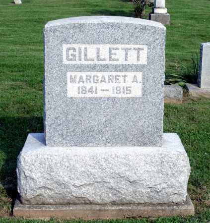 GILLETT, MARGARET A. - Ross County, Ohio | MARGARET A. GILLETT - Ohio Gravestone Photos