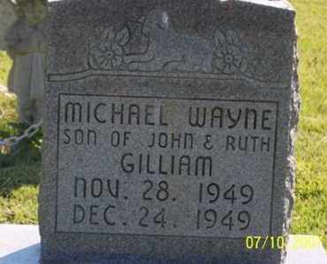 GILLIAM, MICHAEL WAYNE - Ross County, Ohio | MICHAEL WAYNE GILLIAM - Ohio Gravestone Photos