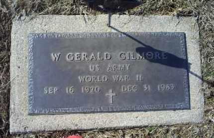 GILMORE, W. GERALD - Ross County, Ohio | W. GERALD GILMORE - Ohio Gravestone Photos