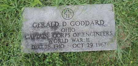 GODDARD, GERALD D. - Ross County, Ohio | GERALD D. GODDARD - Ohio Gravestone Photos