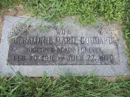 GODDARD, GERALDINE MARIE - Ross County, Ohio | GERALDINE MARIE GODDARD - Ohio Gravestone Photos