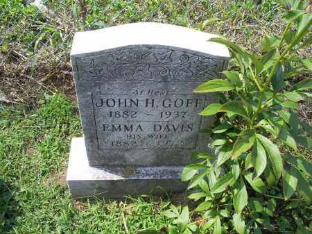 GOFF, JOHN H. - Ross County, Ohio | JOHN H. GOFF - Ohio Gravestone Photos