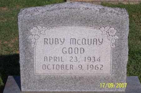 GOOD, RUBY - Ross County, Ohio | RUBY GOOD - Ohio Gravestone Photos