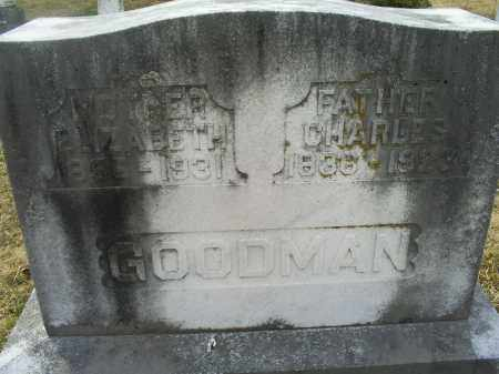 GOODMAN, CHARLES - Ross County, Ohio | CHARLES GOODMAN - Ohio Gravestone Photos