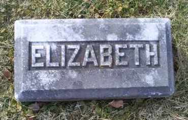GOODMAN, ELIZABETH - Ross County, Ohio | ELIZABETH GOODMAN - Ohio Gravestone Photos