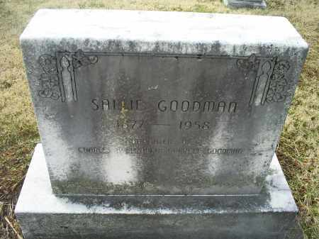 GOODMAN, SALLIE - Ross County, Ohio | SALLIE GOODMAN - Ohio Gravestone Photos