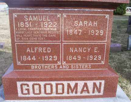 GOODMAN, SAMUEL - Ross County, Ohio | SAMUEL GOODMAN - Ohio Gravestone Photos