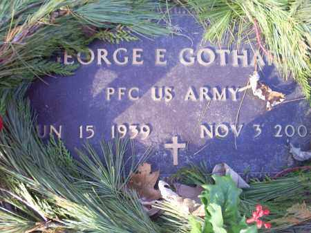 GOTHARD, GEORGE E. - Ross County, Ohio | GEORGE E. GOTHARD - Ohio Gravestone Photos