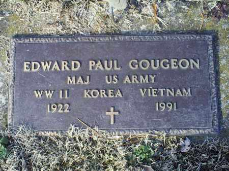 GOUGEON, EDWARD PAUL - Ross County, Ohio | EDWARD PAUL GOUGEON - Ohio Gravestone Photos