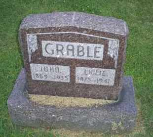 GRABLE, LILLIE - Ross County, Ohio | LILLIE GRABLE - Ohio Gravestone Photos
