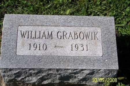 GRABOWIK, WILLIAM - Ross County, Ohio | WILLIAM GRABOWIK - Ohio Gravestone Photos